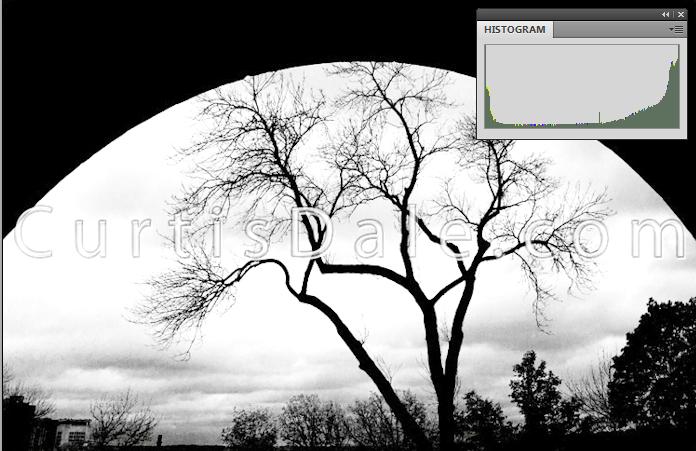histogram-overexposure